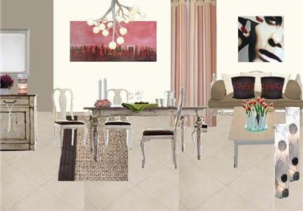 l 39 ambiance de la salle manger avant apr s une pi ce vivre devenue chaleureuse. Black Bedroom Furniture Sets. Home Design Ideas