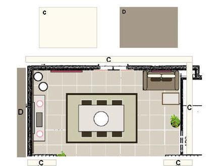 la d coration murale de la salle manger avant apr s une pi ce vivre devenue. Black Bedroom Furniture Sets. Home Design Ideas
