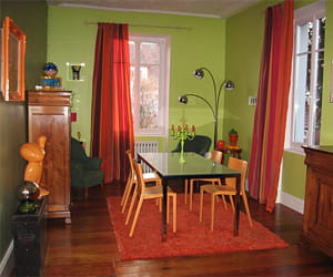 je joue beaucoup sur l 39 harmonie des couleurs dans la d coration de mes pi ces la maison de. Black Bedroom Furniture Sets. Home Design Ideas