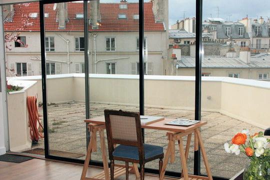 Une terrasse am nager un appart 39 classique l 39 esprit loft journal des femmes - Amenager une terras ...