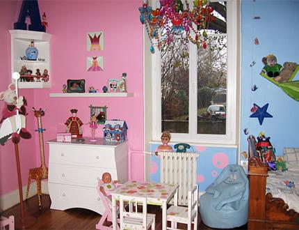 Une chambre mixte la maison de sophie m journal des for Deco chambre enfant mixte