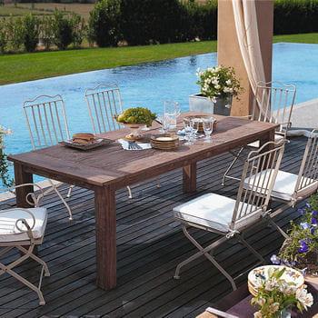 Romantique souhait mobilier et salon de jardin journal des femmes - Salon jardin romantique ...
