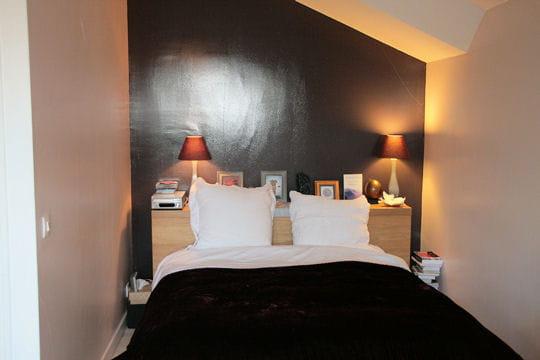 une chambre l 39 esprit zen une maison feng shui et familiale journal des femmes. Black Bedroom Furniture Sets. Home Design Ideas