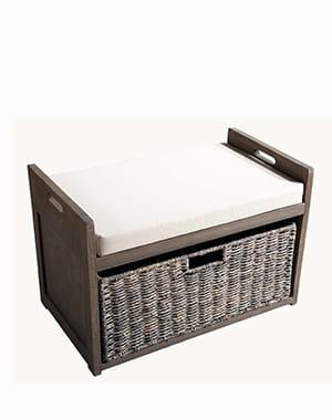 Un banc rangement 20 meubles moins de 150 euros for Banc de rangement salle de bain