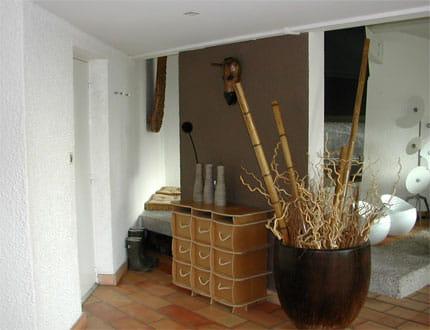 Une entr e qui donne le ton visitez la maison de carine for Decoration entree de maison