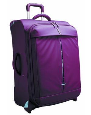 la valise rouge de delsey