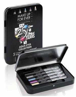 aqua eyes collection de make up for ever