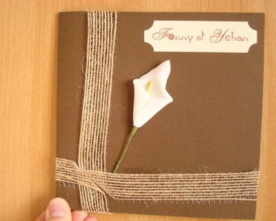 le faire part sobre chic et original le mariage de fanny journal des femmes famille. Black Bedroom Furniture Sets. Home Design Ideas