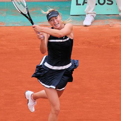 Sharapova on Maria Sharapova   Plus Belles Joueuses De Tennis   Journal Des Femmes