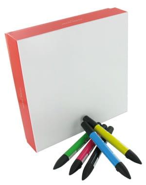 boîte à colorier de 24macarons pierre hermé