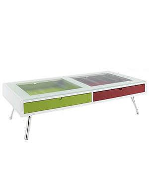 Table bicolore quoi de neuf chez fly journal des femmes - Table de cuisine chez fly ...