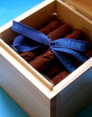 boîte à cigares en chocolat de la maison boissier