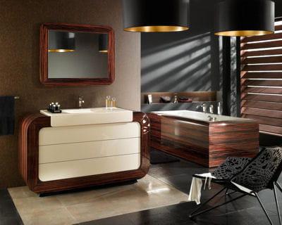 Luxe et volupt for Salle de bain d hotel luxe