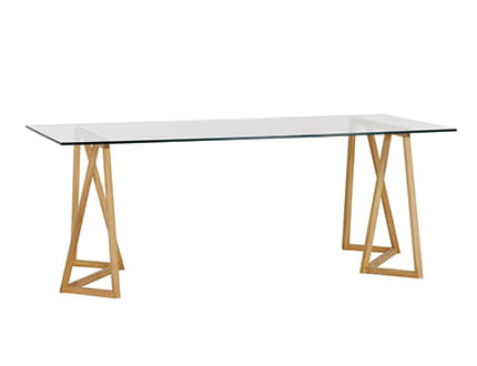 table n 2 un mod le en verre transparent 3 tables 9. Black Bedroom Furniture Sets. Home Design Ideas