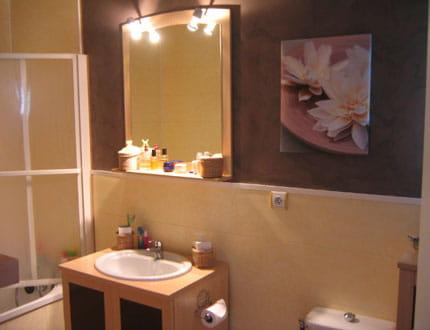 Couleur zen pour salle de bain photos de conception de maison for Couleur salle de bain zen