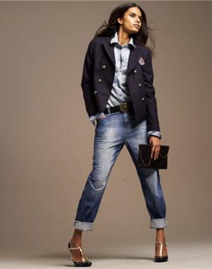 jeans boyfriend mode et fashion. Black Bedroom Furniture Sets. Home Design Ideas