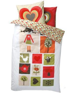 esprit de fille 20 parures de lit pour enfants journal des femmes. Black Bedroom Furniture Sets. Home Design Ideas