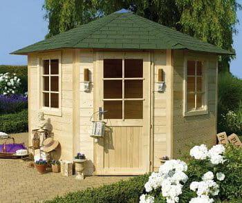 un kiosque pour abri des abris de jardin bien utiles journal des femmes. Black Bedroom Furniture Sets. Home Design Ideas