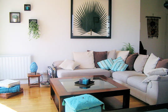 douceur turquoise vos plus belles pi ces vivre journal des femmes. Black Bedroom Furniture Sets. Home Design Ideas