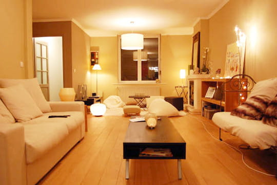 amenager un petit salon. Black Bedroom Furniture Sets. Home Design Ideas