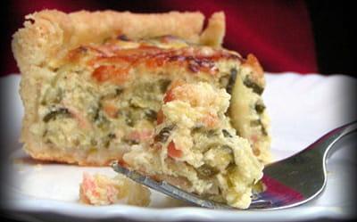 tarte de courgettes et ricotta