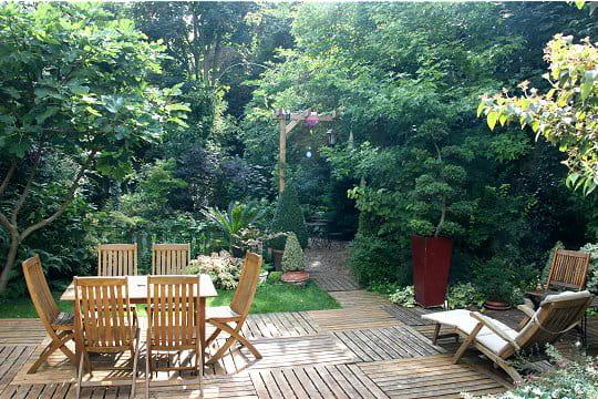 Le coin terrasse visite du jardin des bauches de delphine journal des femmes - Coin terrasse jardin argenteuil ...