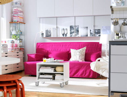 comment am nager intelligemment un studio journal des femmes. Black Bedroom Furniture Sets. Home Design Ideas