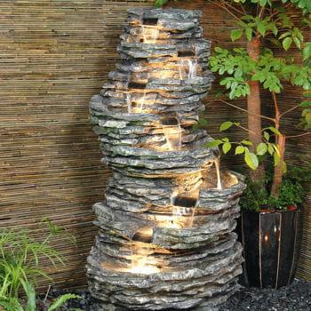 Fontaine jacapagua en cascades fontaines d 39 ext rieur journal des femmes - Fontaine cascade exterieur ...