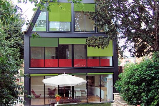 Une habitation recto verso sceaux 1er prix extension for Agrandir sa maison prix