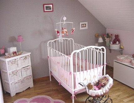 Help me pour la d co de chambre de ma puce les - Deco chambre bebe fille gris rose ...