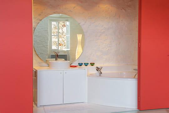 Module salle de bains un triplex en transparence for Module salle de bain