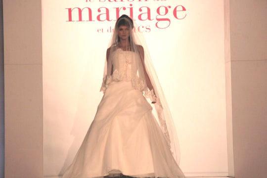Couleur champagne robes de mari e journal des femmes for Robes de renouvellement de voeux de mariage taille plus