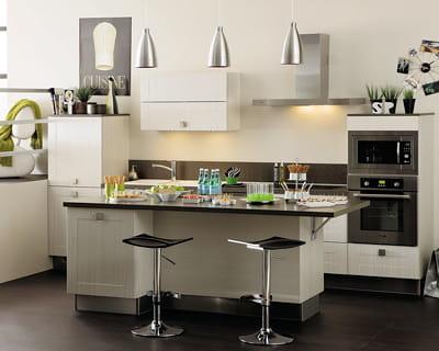 Un lot central pour se simplifier la cuisine petit prix - Ilot central pour petite cuisine ...