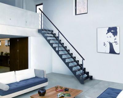Esprit loft les escaliers font la d co journal des femmes - Escalier loft lapeyre ...