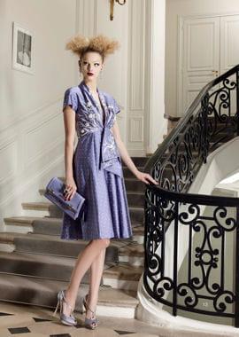 la robe mauve de dior