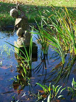 Jardin art d co un pavillon de chasse en camargue for Art deco jardin