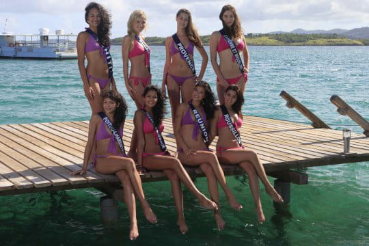 Les miss en Martinique
