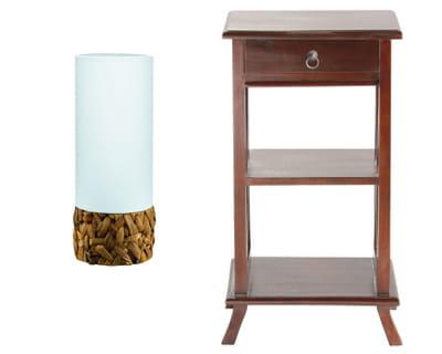 un petit air exotique a chaque table de chevet sa lampe journal des femmes. Black Bedroom Furniture Sets. Home Design Ideas