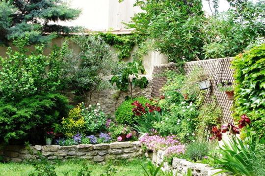 Le jardin suspendu de martine election du plus beau - Beau petit jardin ...