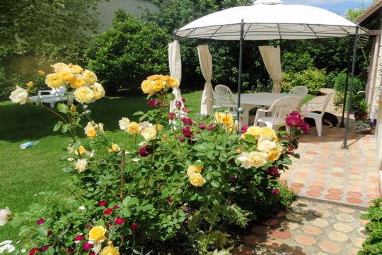 Un jardin fleuri en yvelines for Deco jardin fleuri
