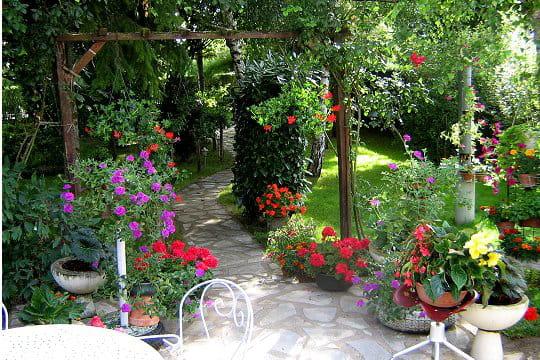 Le jardin color de jocelyne election du plus beau jardin de lecteurs 2009 - Beau jardin de particulier ...