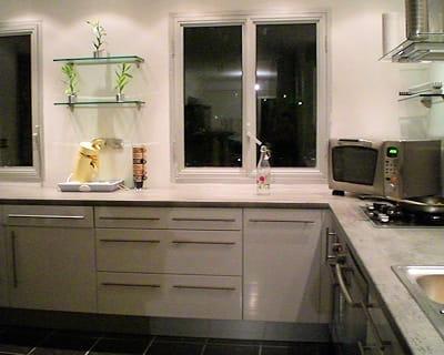 Une cuisine am ricaine des plus modernes avant apr s 10 pi ces de lectric - Photos cuisines relookees ...