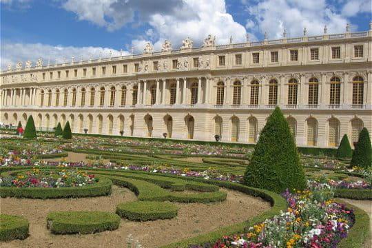 Des jardins la hauteur du ch teau de versailles - Jardin du chateau de versailles gratuit ...