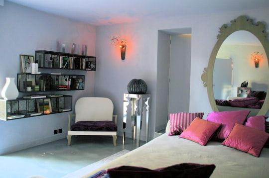 rose baroque des chambres part journal des femmes. Black Bedroom Furniture Sets. Home Design Ideas