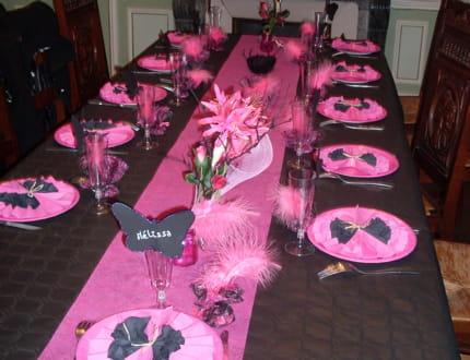 décoration de table carnaval #3