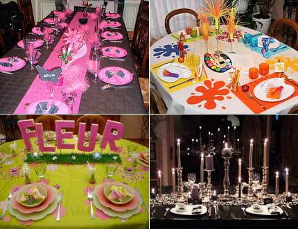 Des tables aux mille couleurs journal des femmes - Noel a mille couleurs ...