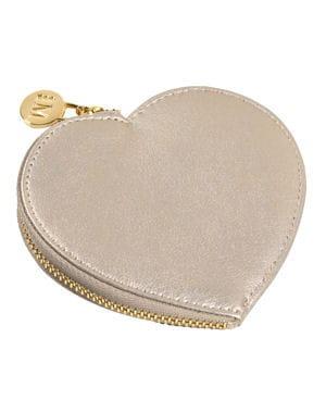 Coeur en or id es cadeaux pour la saint valentin for Porte monnaie peace and love
