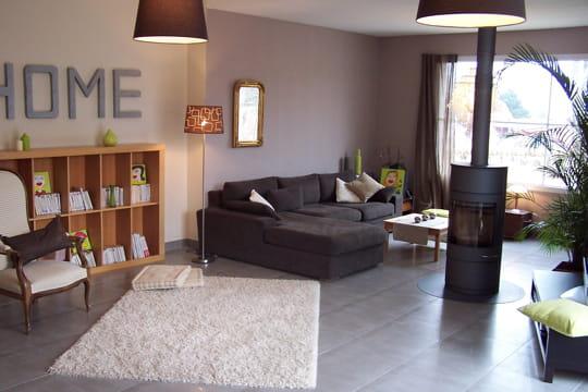 Home sweet home - Deco salon gris et beige ...
