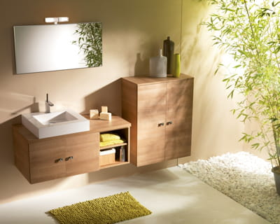 des salles de bain d co nature id e d co de salle de bain. Black Bedroom Furniture Sets. Home Design Ideas