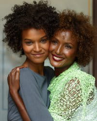 Waris Dirie couple